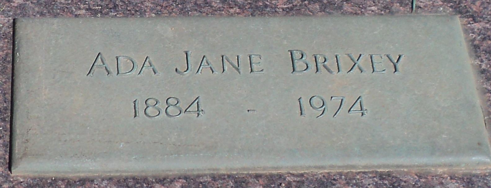 Ada Jane Brixey
