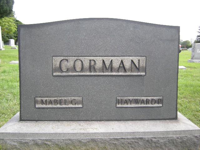 Mabel G Corman