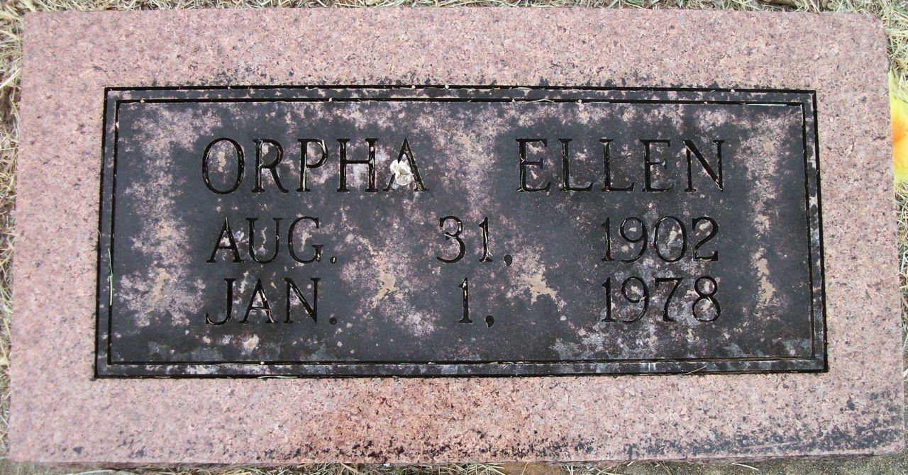 Orpha Ellen <i>Fenderson</i> Berry