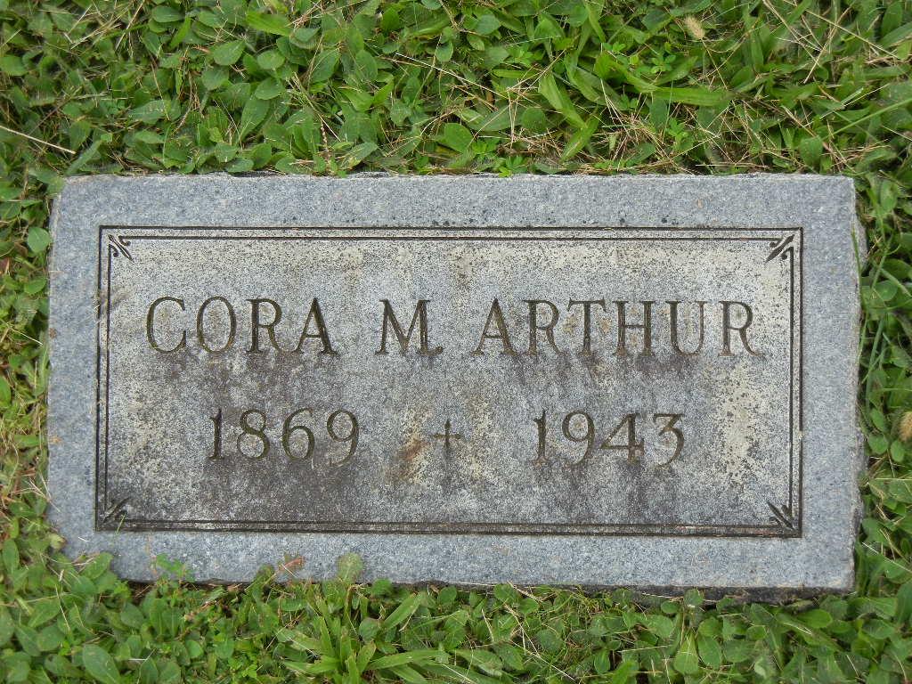 Cora May Arthur