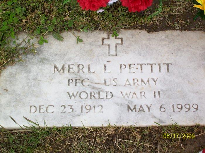 PFC Merl Lavern Pettit