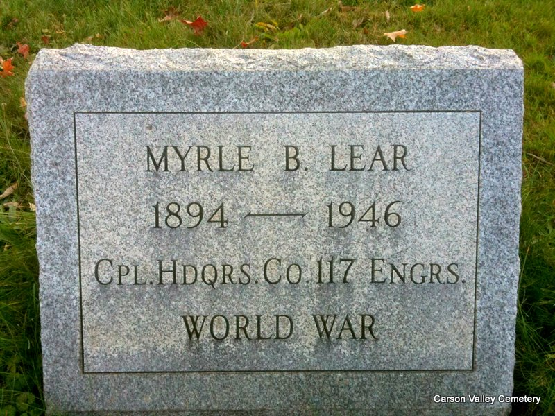Myrle Blair Lear, Sr