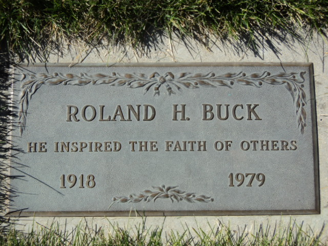 Rev Roland H. Buck