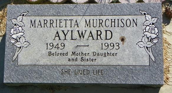 Marrietta <i>Murchison</i> Aylward