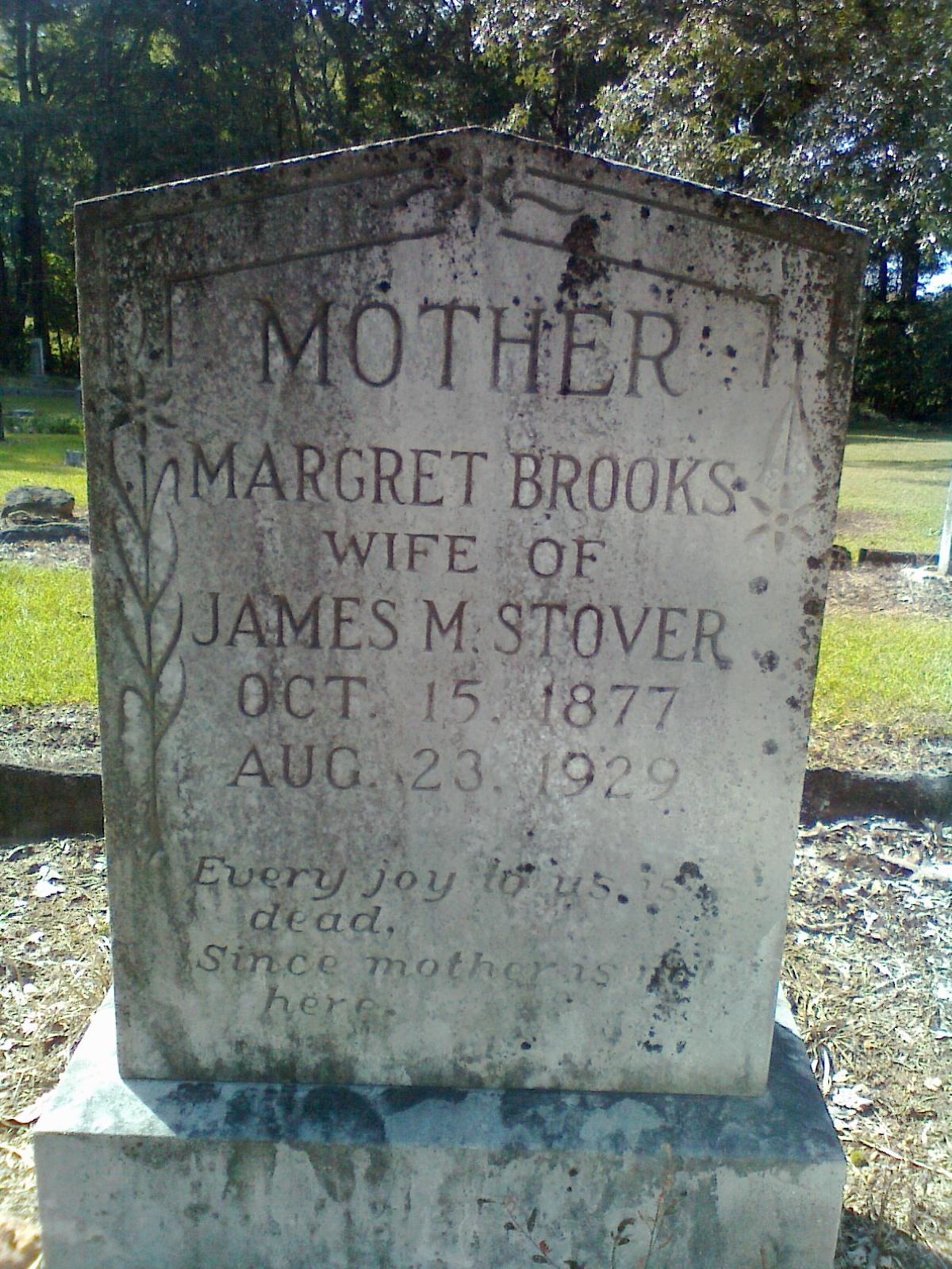 Margaret <i>Brooks</i> Stover