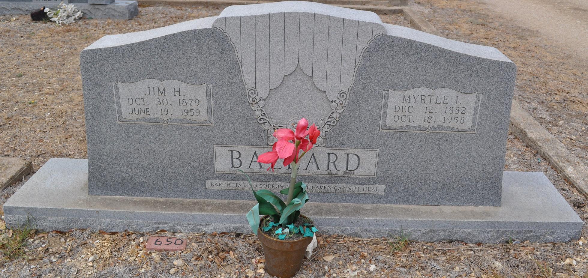 Myrtle Lena <i>Conner</i> Ballard