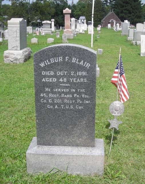 Wilbur F Blair