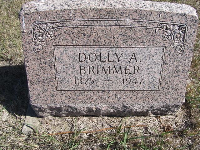 Dolly Amanda <i>Banta</i> Brimmer