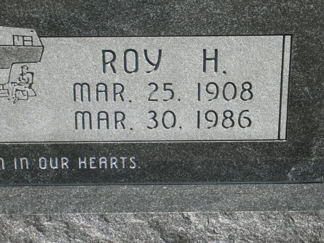 Roy H Alexander