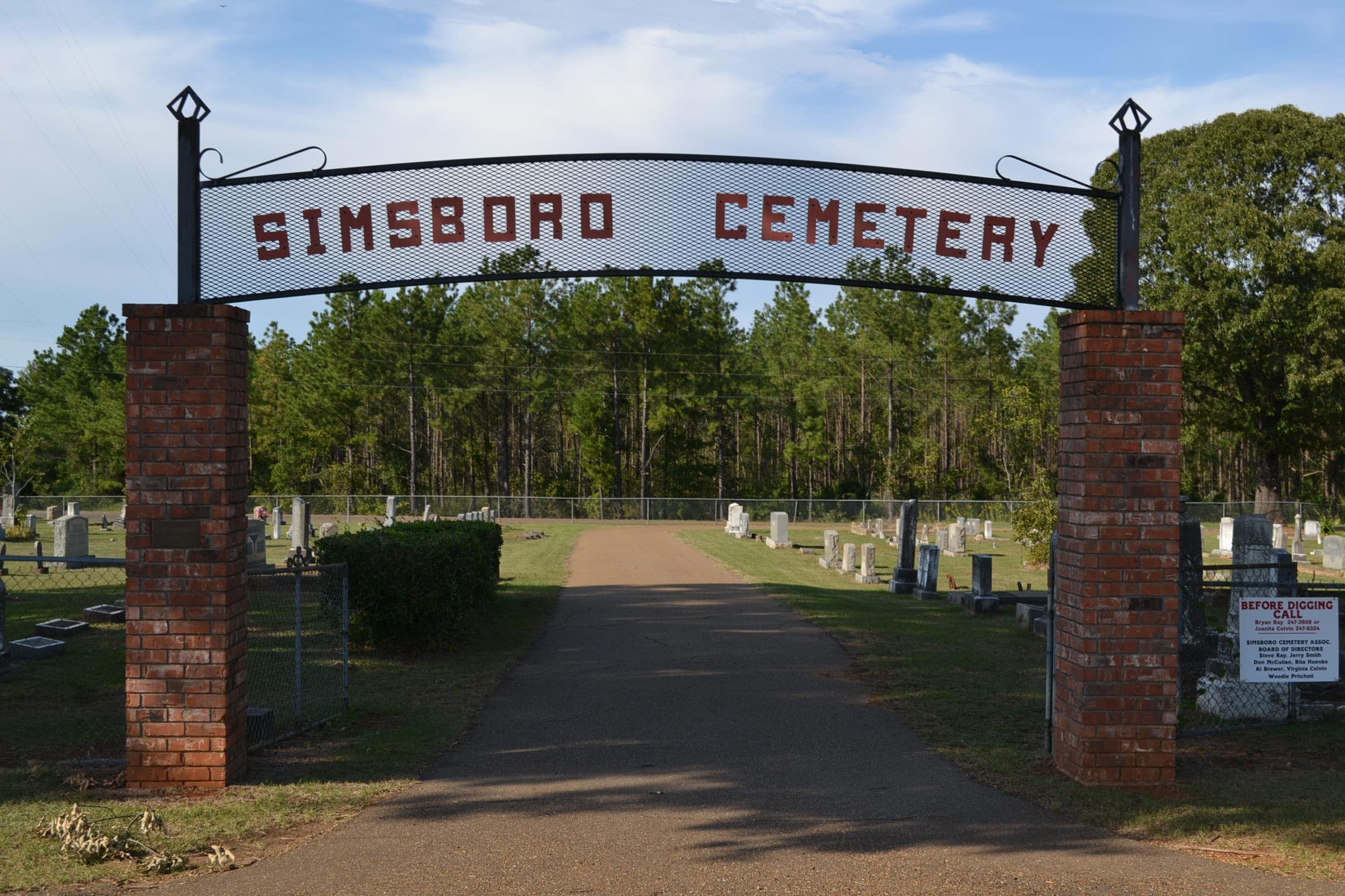Simsboro City Cemetery