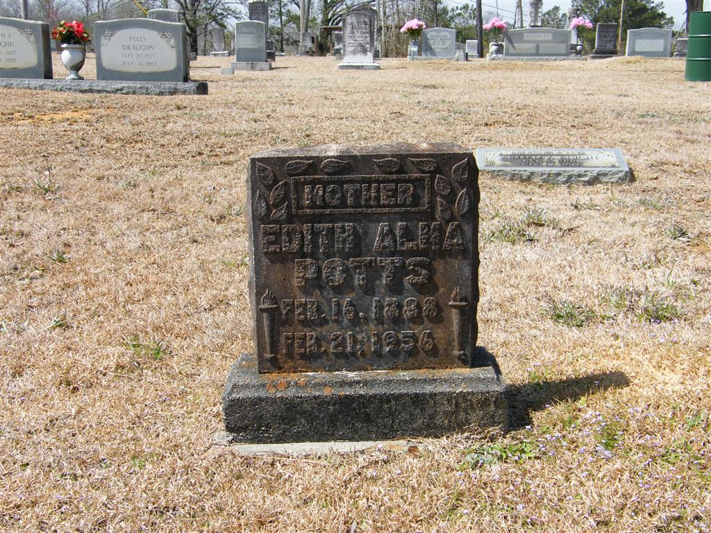 Edith Alma <i>Austin</i> Potts