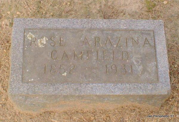 Rose Arazina <i>Graham</i> Camfield