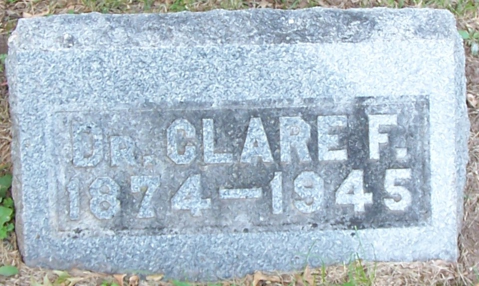 Dr Clare F. Hoover