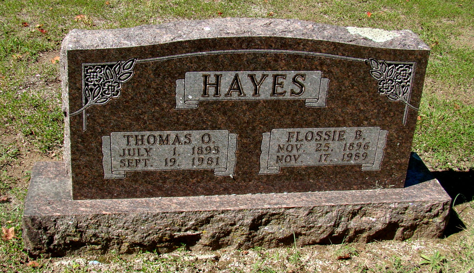 Flossie Bell <i>Williams</i> Hayes