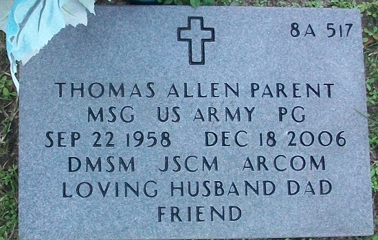 MSGT Thomas Allen Parent