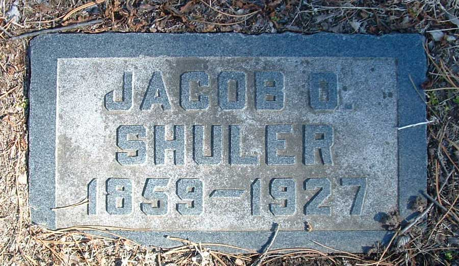 Jacob O Shuler