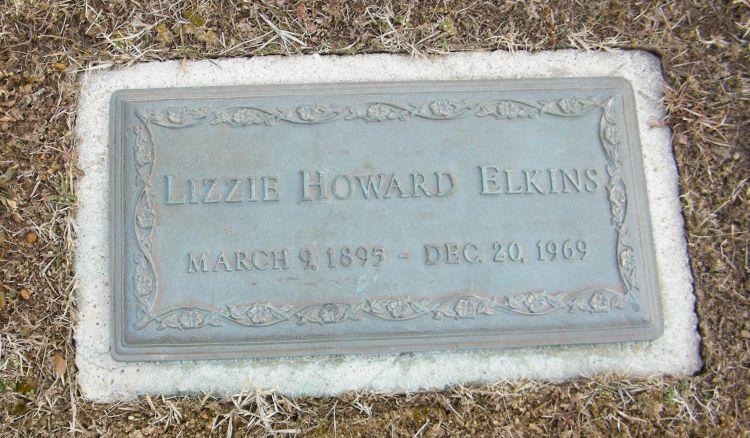 Lizzie <i>Howard</i> Elkins