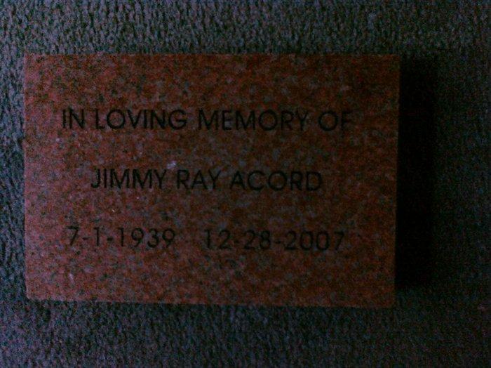 Jimmy Ray Acord