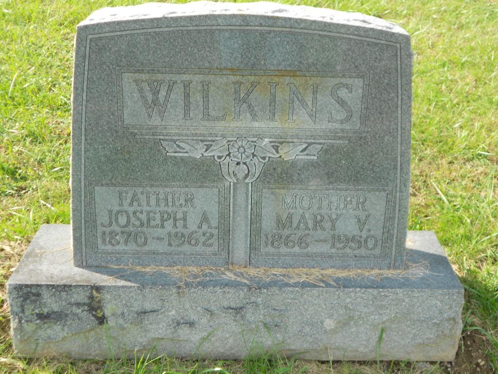 Mary Virginia <i>Miller</i> Wilkins