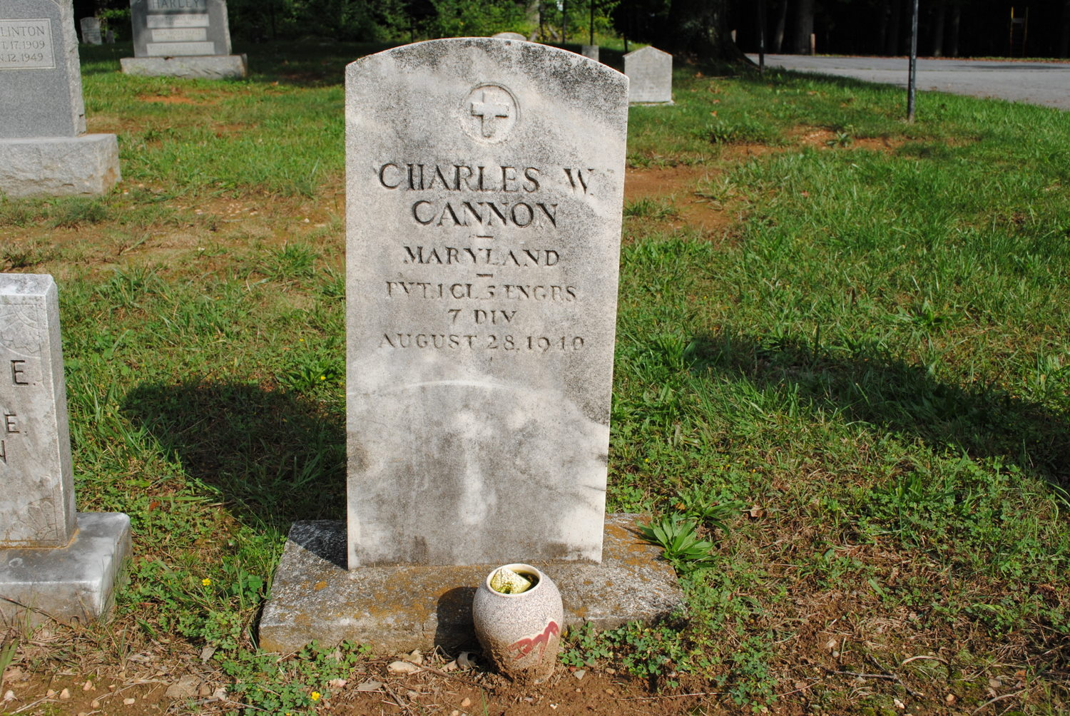 Pvt Charles Woodrow Cannon
