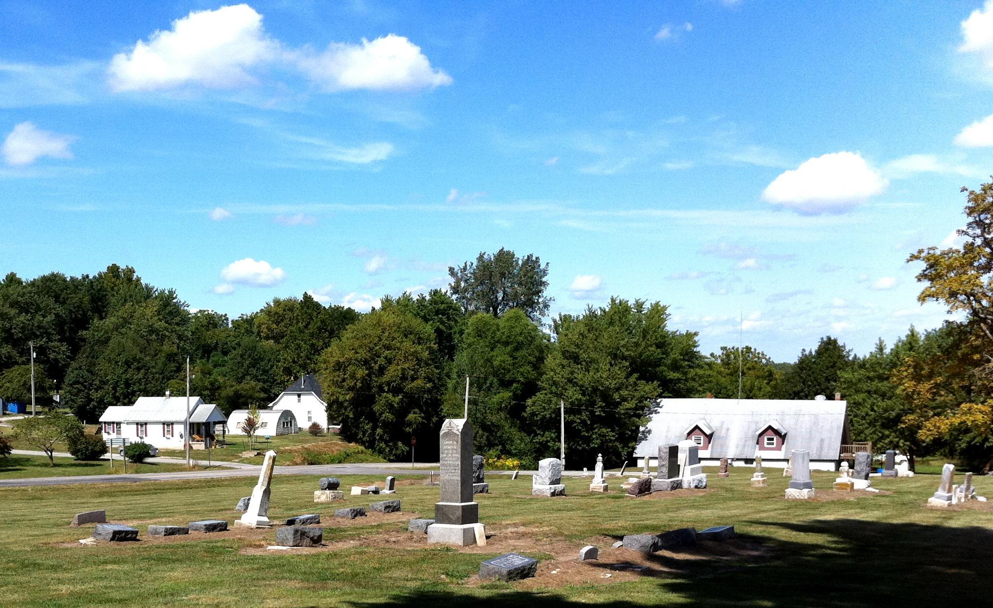 Grand Pass Methodist Church Cemetery