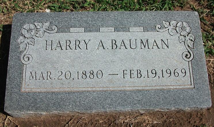 Harry Alvin Bauman