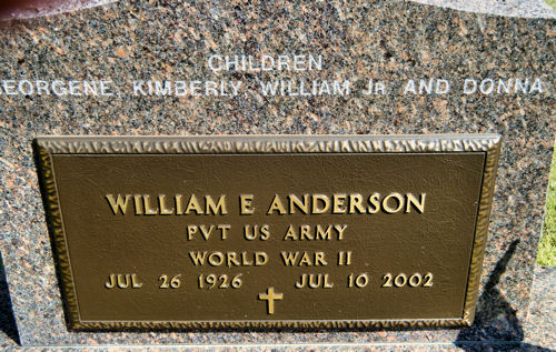 William E Anderson