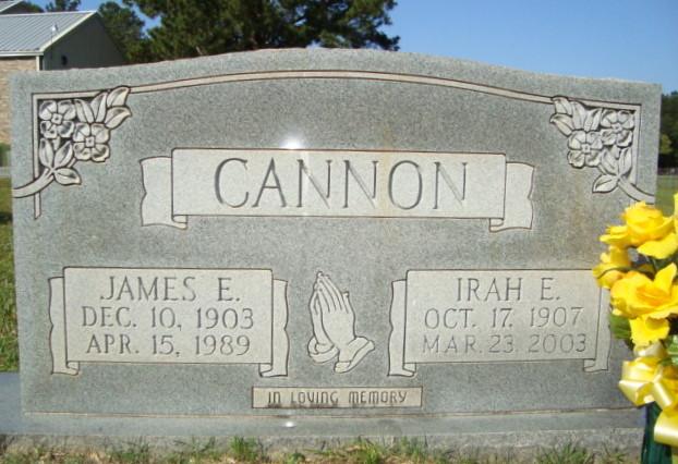 Irah E Cannon