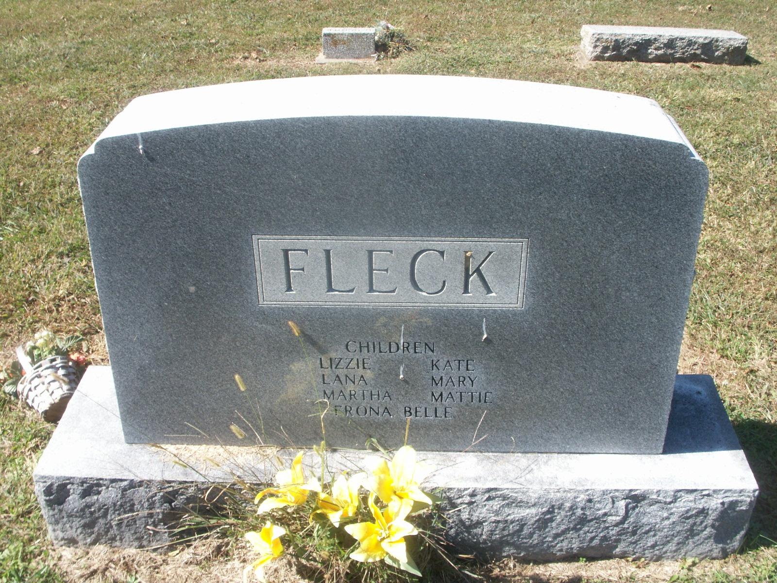 Frances E. Fannie <i>Turner</i> Fleck