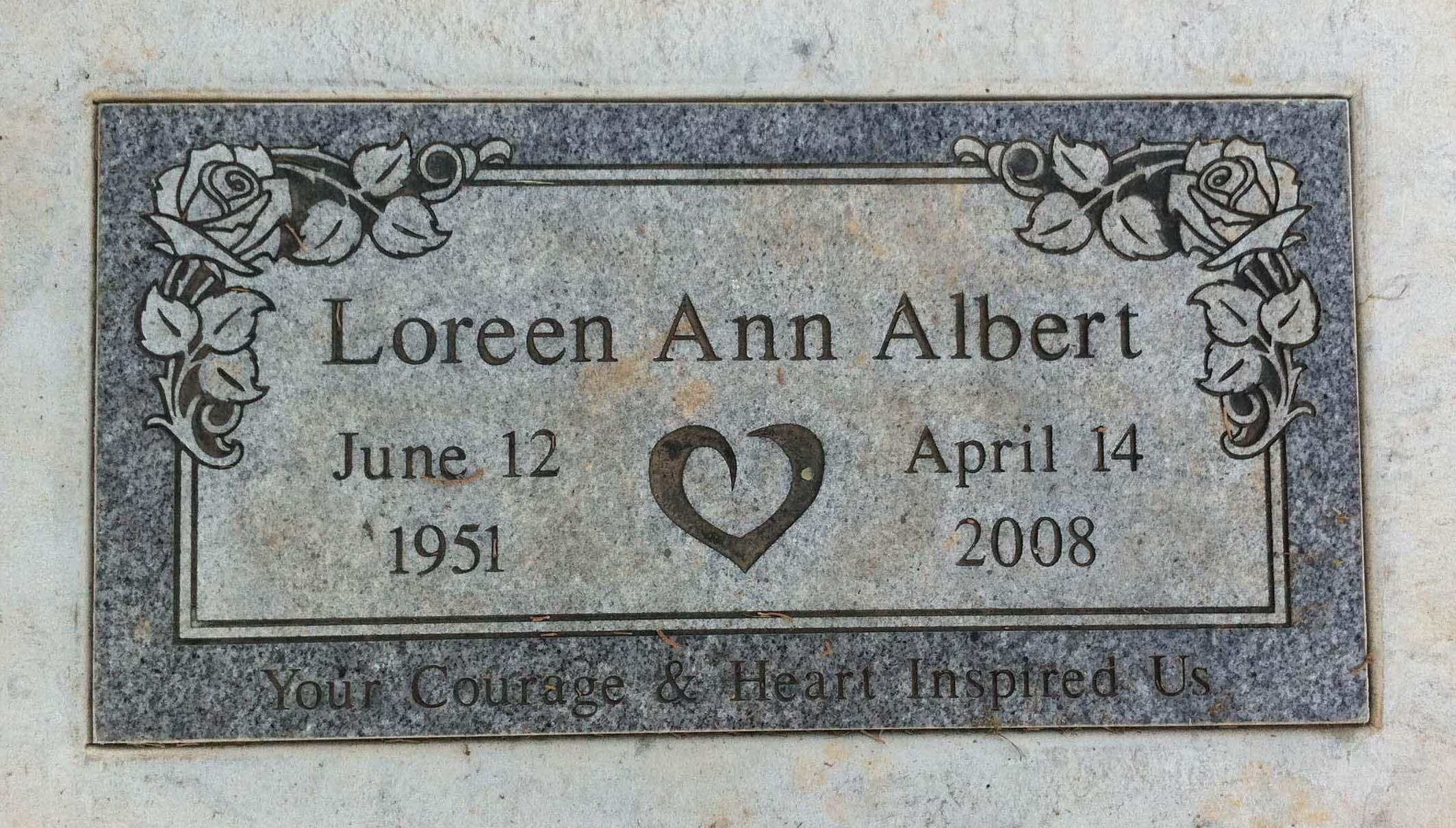 Loreen Ann Albert