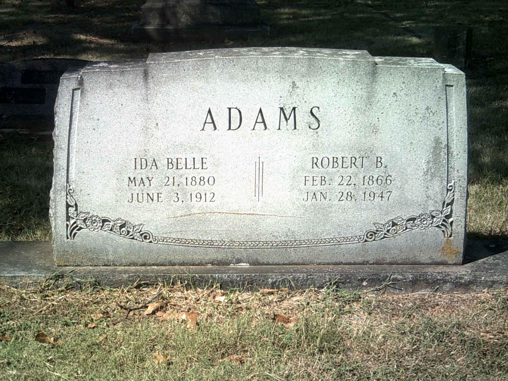 Ida Belle Adams