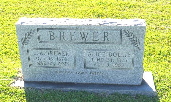 Alice Dollie Brewer