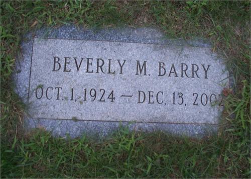 Beverly M. <i>Brides</i> Barry