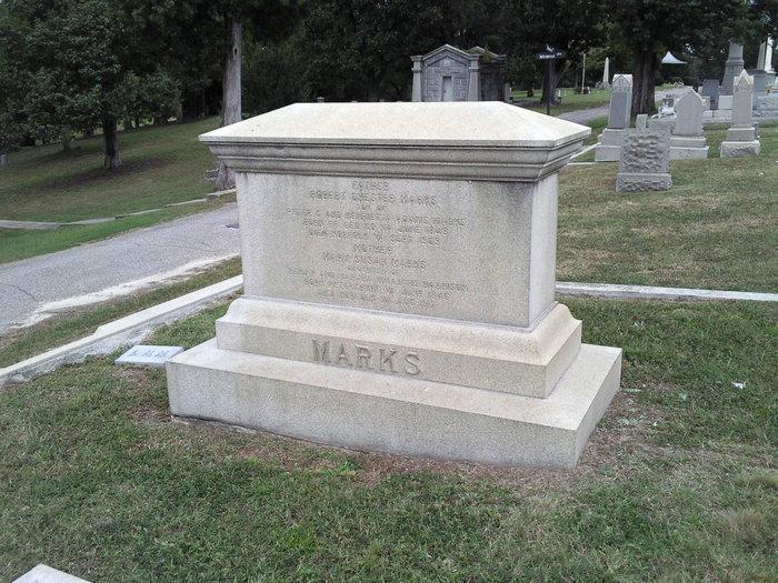 Mary Susan <i>Harrison</i> Marks