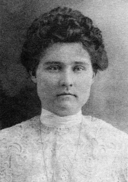 Ida Bell <i>Clayton</i> Barnes