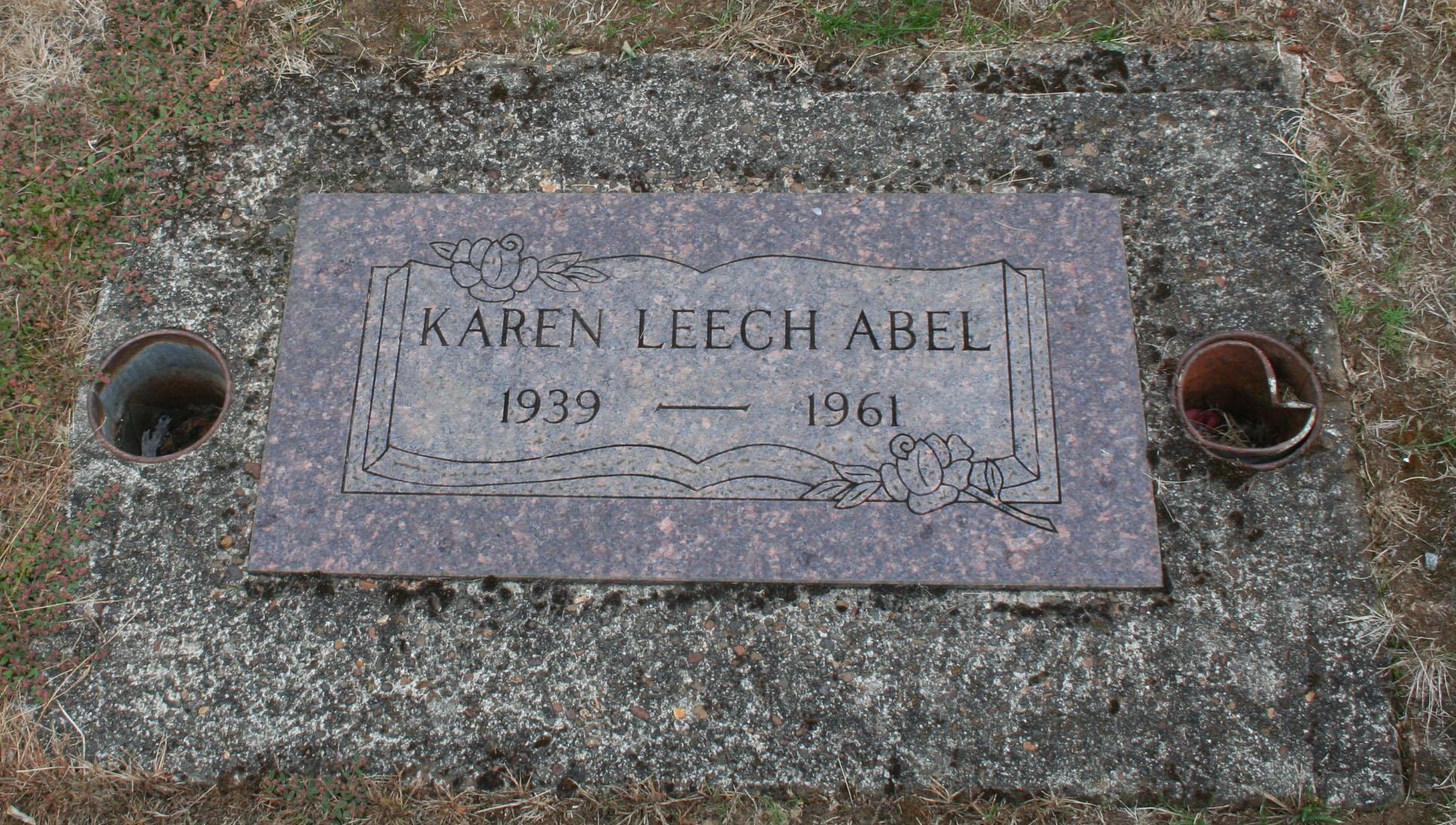 Karen <i>Leech</i> Abel