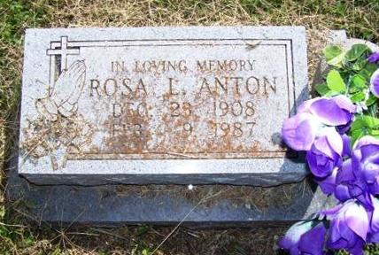 Rosa Louise <i>Von Quintus</i> Anton