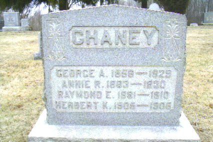 Dr George Ames Chaney
