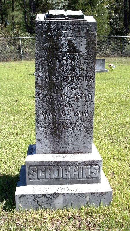 Mary J. <i>Eubanks</i> Scroggins