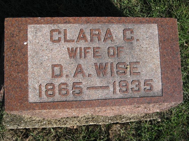 Clara C. <i>Emery</i> Wise