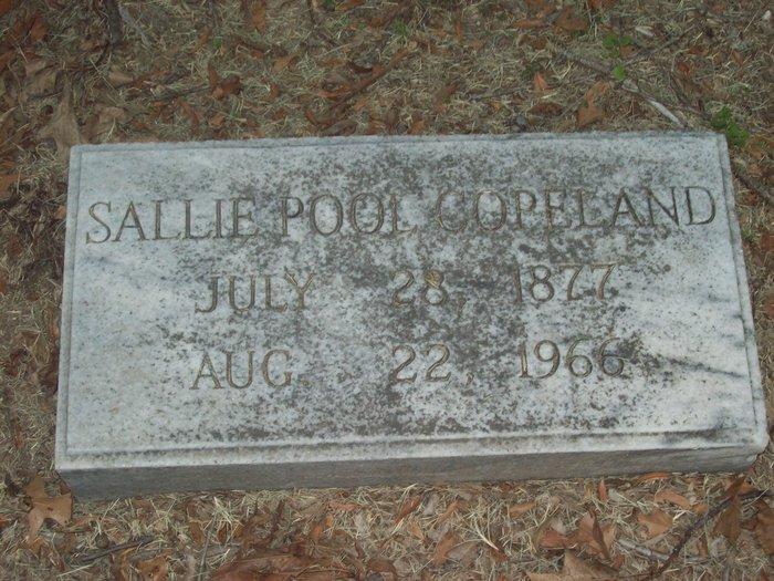Sarah (Sallie) <i>Pool</i> Copeland