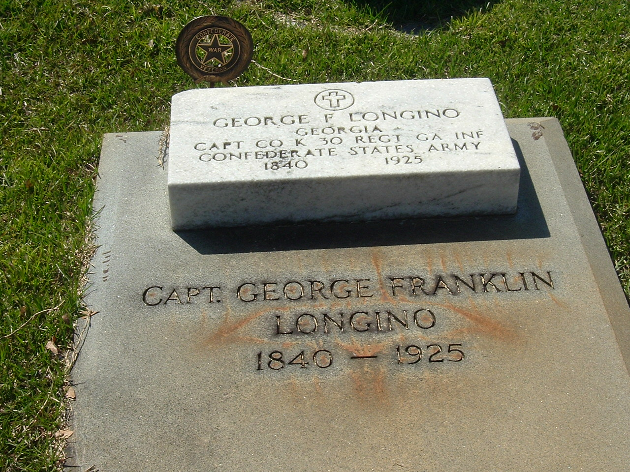 Capt George Franklin Longino