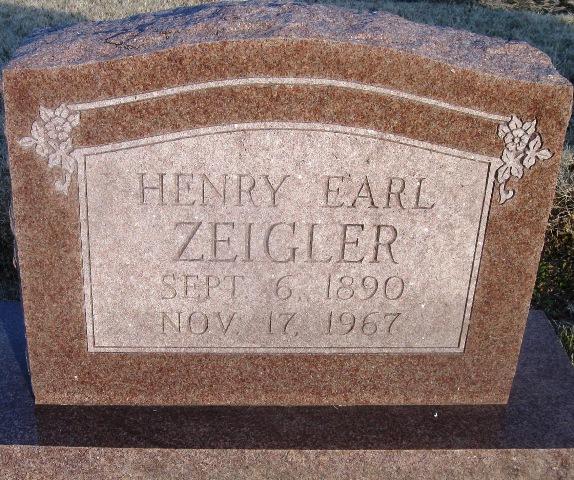 Henry Earl Zeigler