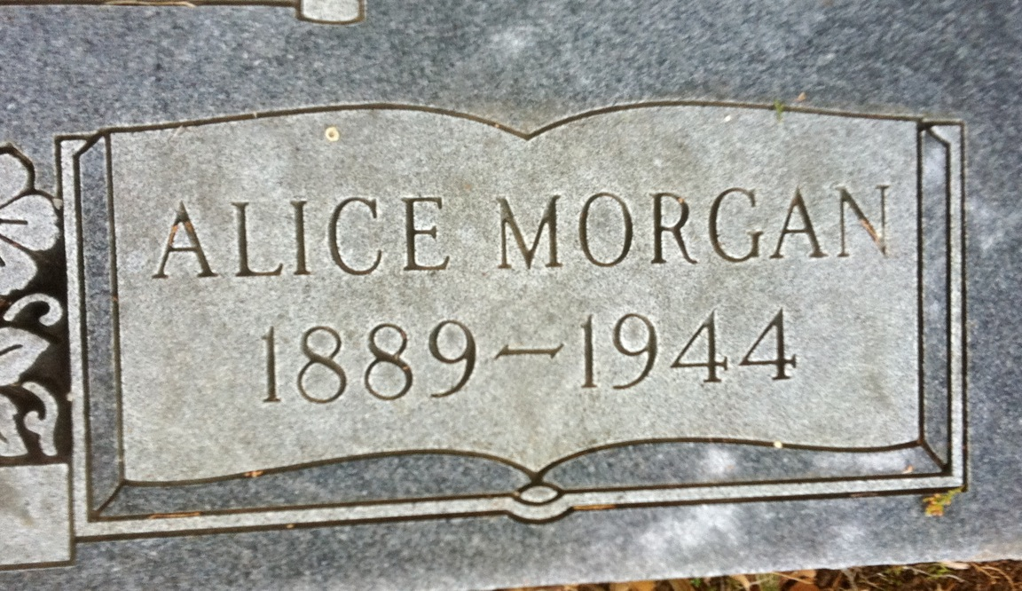Alice <i>Morgan</i> Morgan