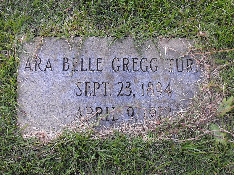 Ara Belle <i>Gregg</i> Turner