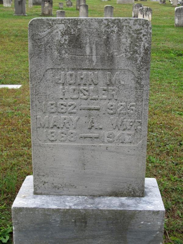 John M. Hosler