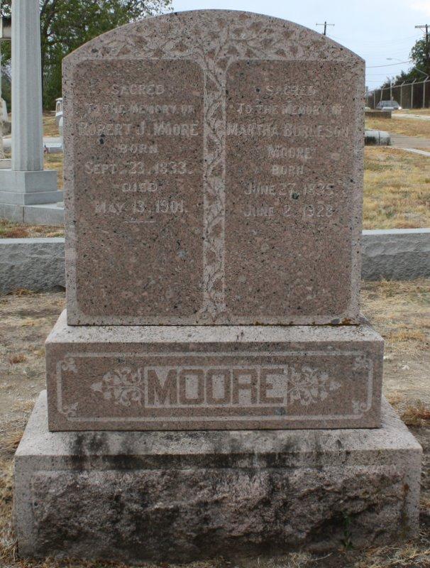 Martha Jane <i>Burleson</i> Moore