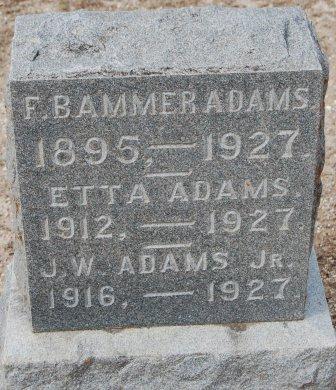 Etta May Adams