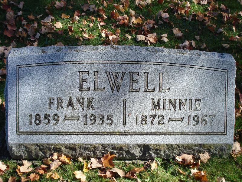 Minnie Adele <i>Clack</i> Elwell