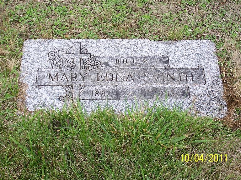 Mary Edna <i>Binder Morgan</i> Svinth